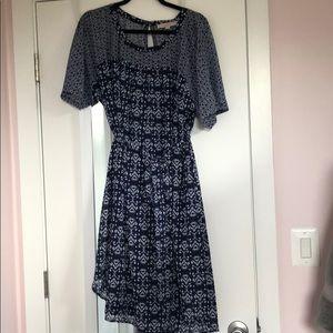 LOFT Printed Dress